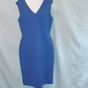 Antonio Melani blue sleeveless dress size 10